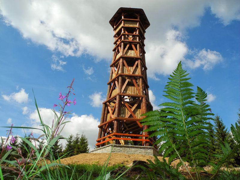 Rozhledna Miloňová u Velkých Karlovic. Zdroj Centrála cestovního ruchu Východní Moravy